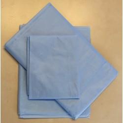 Komplet povlečení na postel modrý  STERI•PROTECT