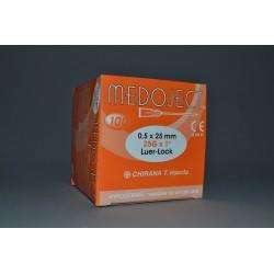 Injekční jehla oranžová sterilní 0,50x25mm STERI•INJECT