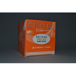 Injekční jehla oranžová sterilní 0,50x16mm STERI•INJECT