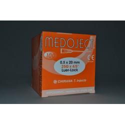Injekční jehla oranžová sterilní 0,50x20mm STERI•INJECT