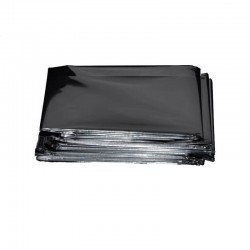 Izotermická folie stříbrná 140 x 200 cm