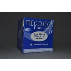 Injekční jehla modrá sterilní 0,60x30mm STERI•INJECT