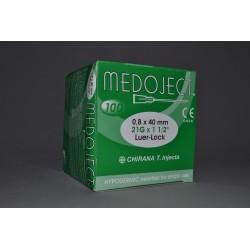 Injekční jehla zelená sterilní 0,80x40mm STERI•INJECT